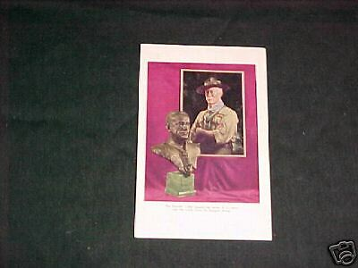 The Founder & Chief Scout Baden-Powell Postcard     c21