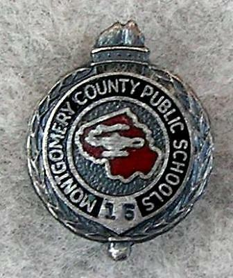 Montgomery County Schools Maryland 15 Year Service `