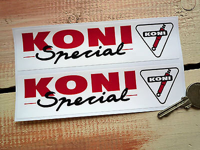 KONI SPECIAL  Racing & Rally car sponsors stickers