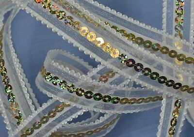 20mm Spectacular Sequin Edging