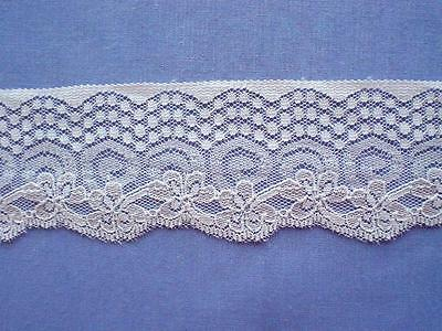Beautiful  Pink Lace Edging (x 5 metres)