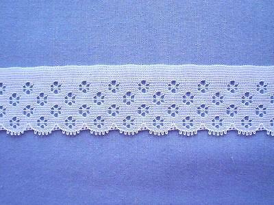 Beautiful  White Lace Edging