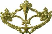 Furniture Repair Parts Cast Brass Drawer  Pull  B0650