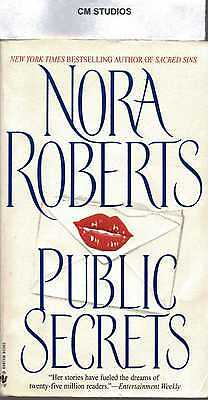 PUBLIC SECRETS by NORA ROBERTS PB 1998 VERY GOOD