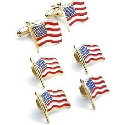Stars and Stripes Cufflinks and Studs