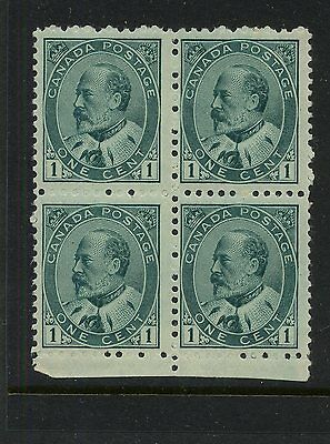 Canada  89     Mint  NH  block   catalog $330.00    RL1207-101