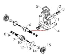 265543 John Deere L G Belt Routing Guide further Husqvarna Lawn Mower Deck Belt Doesnt Fit 381569 likewise L100 John Deere Wiring Diagram moreover BUSH HOG ROTARY CUTTER GEARBOX GEAR TRACTOR 70968 160856288701 furthermore 115434 318 420 Ignition Switch Bad. on john deere 111 lawn tractor