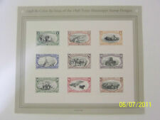 1998 Re-Issue 1898 Trans-Mississipp 9 Diff Stamps #3209