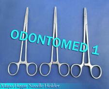 "3 Mayo Hegar Needle Holder 6"" Surgical Dental O.R Grade"