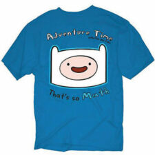 ADVENTURE TIME WITH FINN & JAKE FINN HEAD THATS MATH CARTOON ADULT T SHIRT L