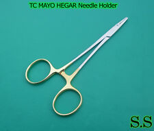 "TC MAYO HEGAR NEEDLE HOLDER 5.5"" SERR DENTAL SURGICAL"