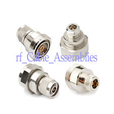 7/16 DIN male/female to Type N male/female connector adapter kit 4pc/set, N716