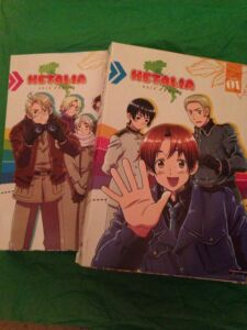 Hetalia Axis Powers Season 1 Season 2 DVD Set