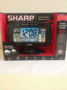 Sharp Atomic Wireless Weather Station http://picclick.com/Sharp-Atomic