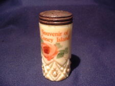Coney Island Brooklyn New York City Ny Diamond With Peg Custard Salt Shaker