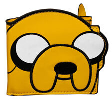 New Adventure Time Jake Yellow Bi-Fold Wallet Die Cut Cartoon Collectable