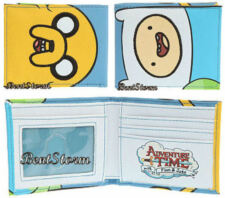 NEW Adventure Time With Finn and Jake Dog Boy Bi-Fold Billfold Wallet Licensed
