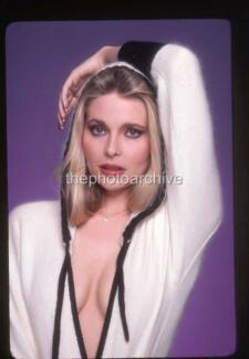 PRISCILLA BARNES Threes Company PENTHOUSE Harry Langdon Neg  13 RIGHTS    Priscilla Barnes 1981