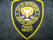 MORGANTON, NC POLICE PATCH