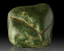 "5.8"" 3.3LB Natural Ocean Polished Dark Green NEPHRITE JADE Big Sur CA for sale"