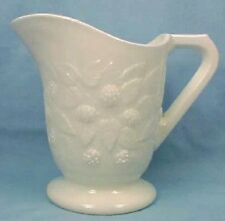 EAPG Antique BLACKBERRY MILK GLASS CREAMER Hobbs WOW