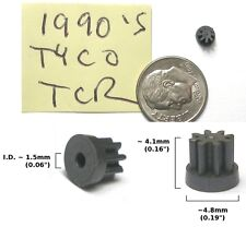 1 TYCO TCR HO Slot Car Chassis FACTORY PINION GEAR MINT
