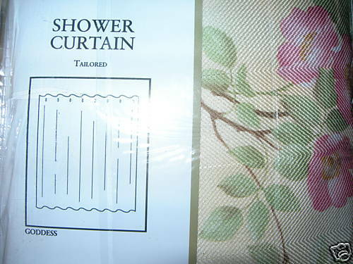 Purple Rose Shower Curtain from Sears.com