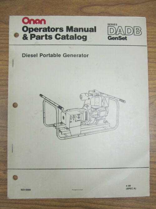 Onan Engine Parts Catalog : Onan engine parts manual nhe free image for