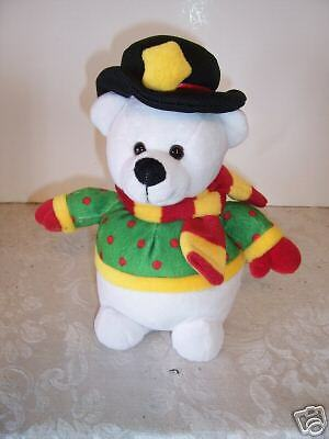 CHRISTMAS POLAR BEAR HOLIDAY GIFT TOY  DECORATION