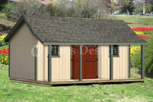 Saltbox Shed Plans with Porch submited images