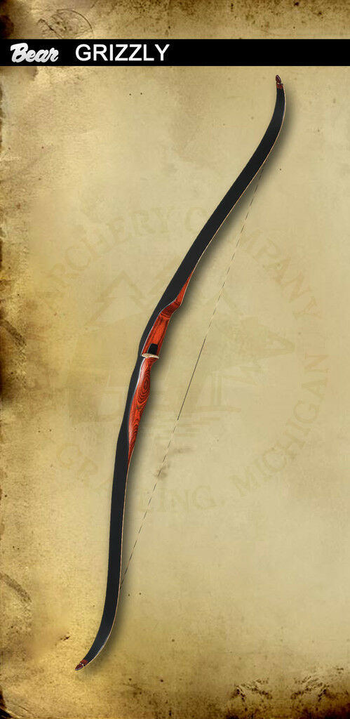 Fred bear grizzly recurve bow http www pic2fly com fred bear recurve