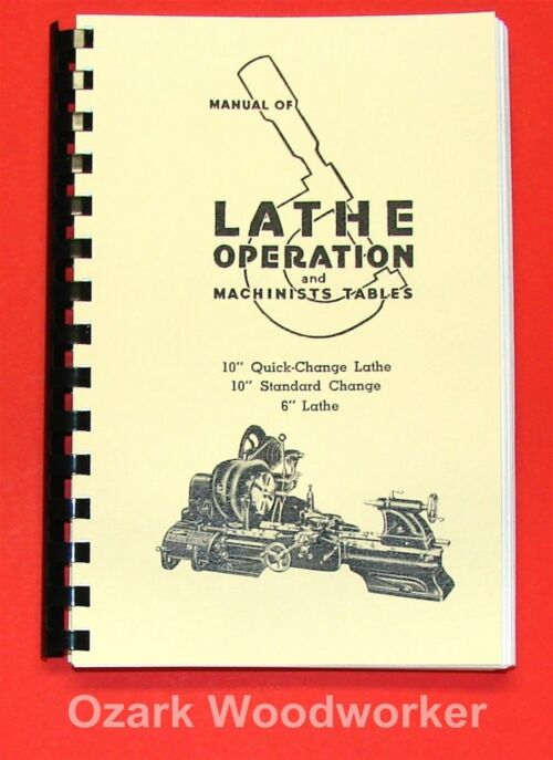 atlas manual of lathe operation and pdf download free