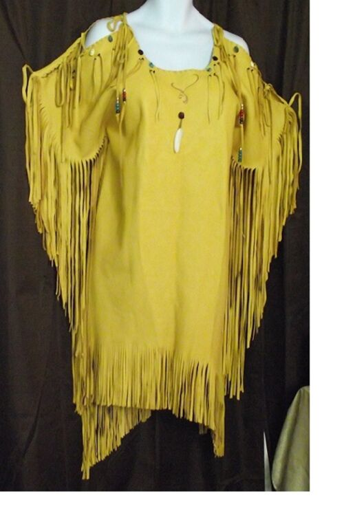 Native american buckskin dresses submited images pic2fly