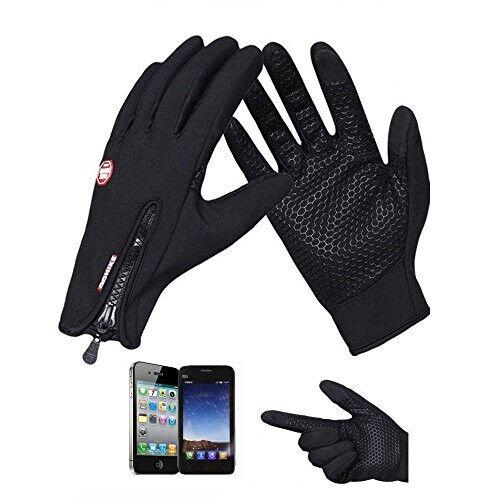 Wasserdicht Thermo Winter Handschuhe Finger Touch klappbar Sport Warm Gloves -DE 2