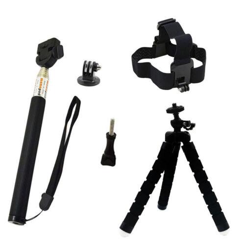Action Camera Accessory Kit for GoPro Hero Xiaomi Yi 4K SJCAM SJ5000 SJ7 Eken H9 12