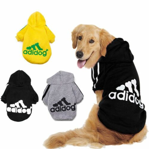 Small Cute Pet Dog Cat Clothes Puppy Warm Sweater Hoodie Coat Costume Apparel 3