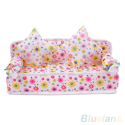 Excellent Sale Mini Furniture Flower Sofa Couch With 2 Cushions For Pdpeps Interior Chair Design Pdpepsorg