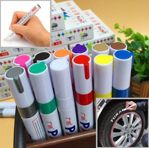 1PC Waterproof Permanent Paint Marker Pen For Car Tyre Tire Tread Rubber Metal 5