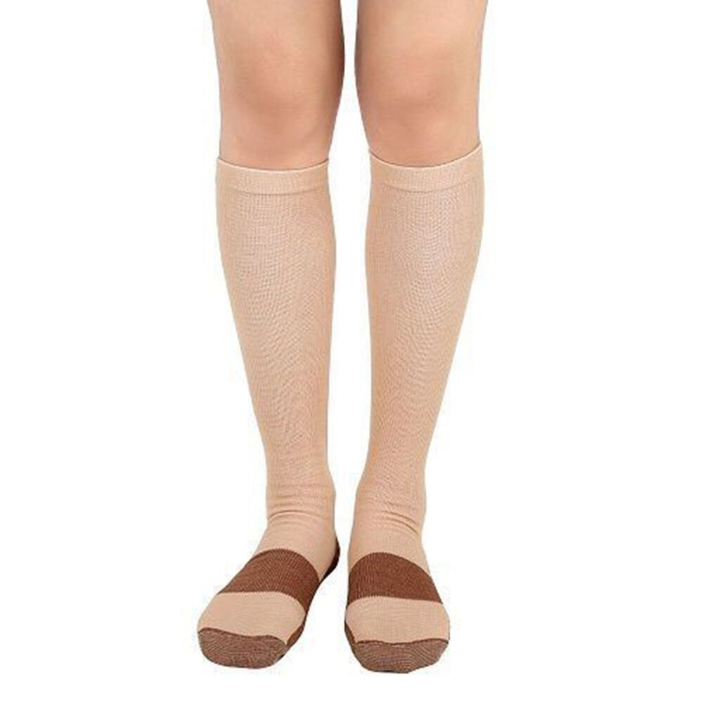 BL_ Copper Infused Compression Socks 20-30mmHg Graduated Men's Women's S-XXL Coo 6