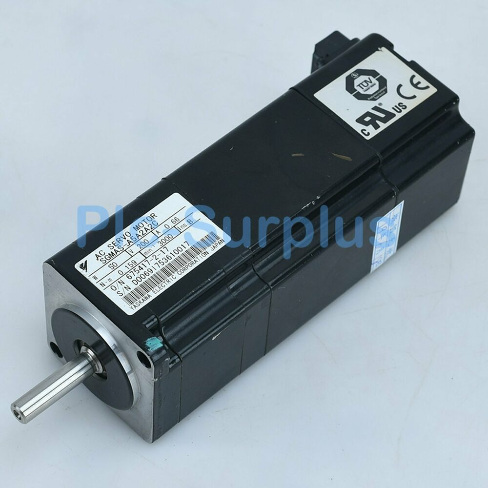 Yaskawa Used Servo Motors SGMAS-A5A2A2C SGMASA5A2A2C Tested fully 8