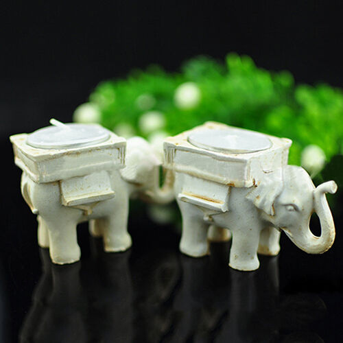 Am Lucky Elephant Tea Light Candle Holder Candlestick Wedding Favor