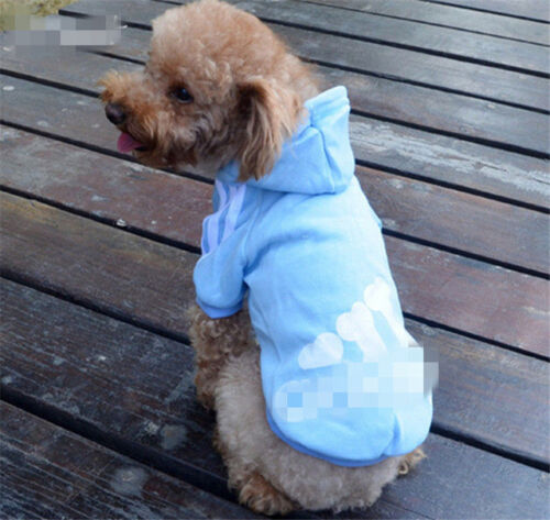 New XS-3XL Pet Winter Coat Dog Warm Clothing Casual Cat Puppy Hoodie Sweater 11