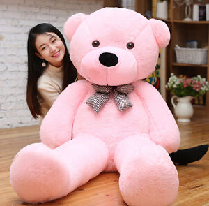 Large Teddy Bear Giant Teddy Bears Big Soft Plush Toys Kids 60/80/100cm UK hot 6