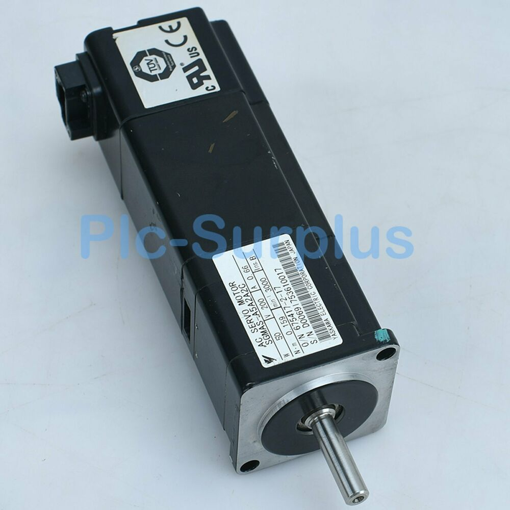 Yaskawa Used Servo Motors SGMAS-A5A2A2C SGMASA5A2A2C Tested fully 6