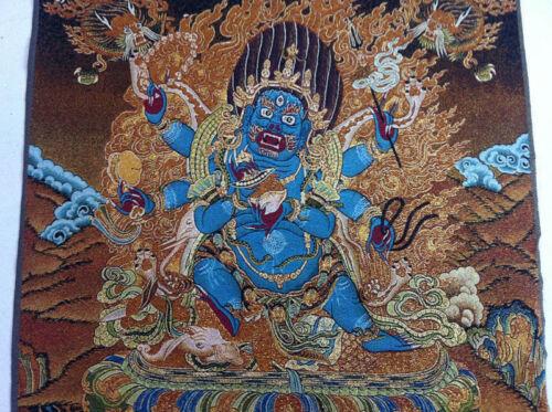 Tibet Nepal thangka tara buddha Kuan statue Guan Yin Exorcism peace wealth cf