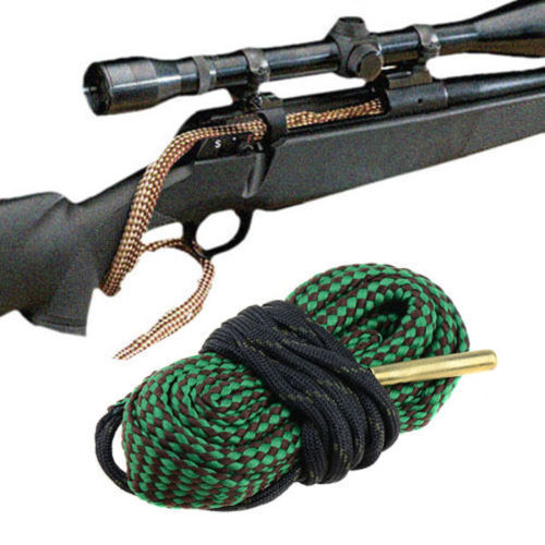 Gun Bore Snake String Cleaner Cleaning Calibre Borebrush Hunting Acces Kit New 2