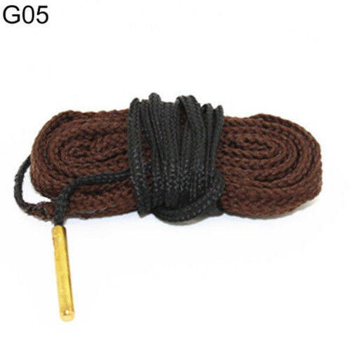 Gun Bore Snake String Cleaner Cleaning Calibre Borebrush Hunting Acces Kit New 8