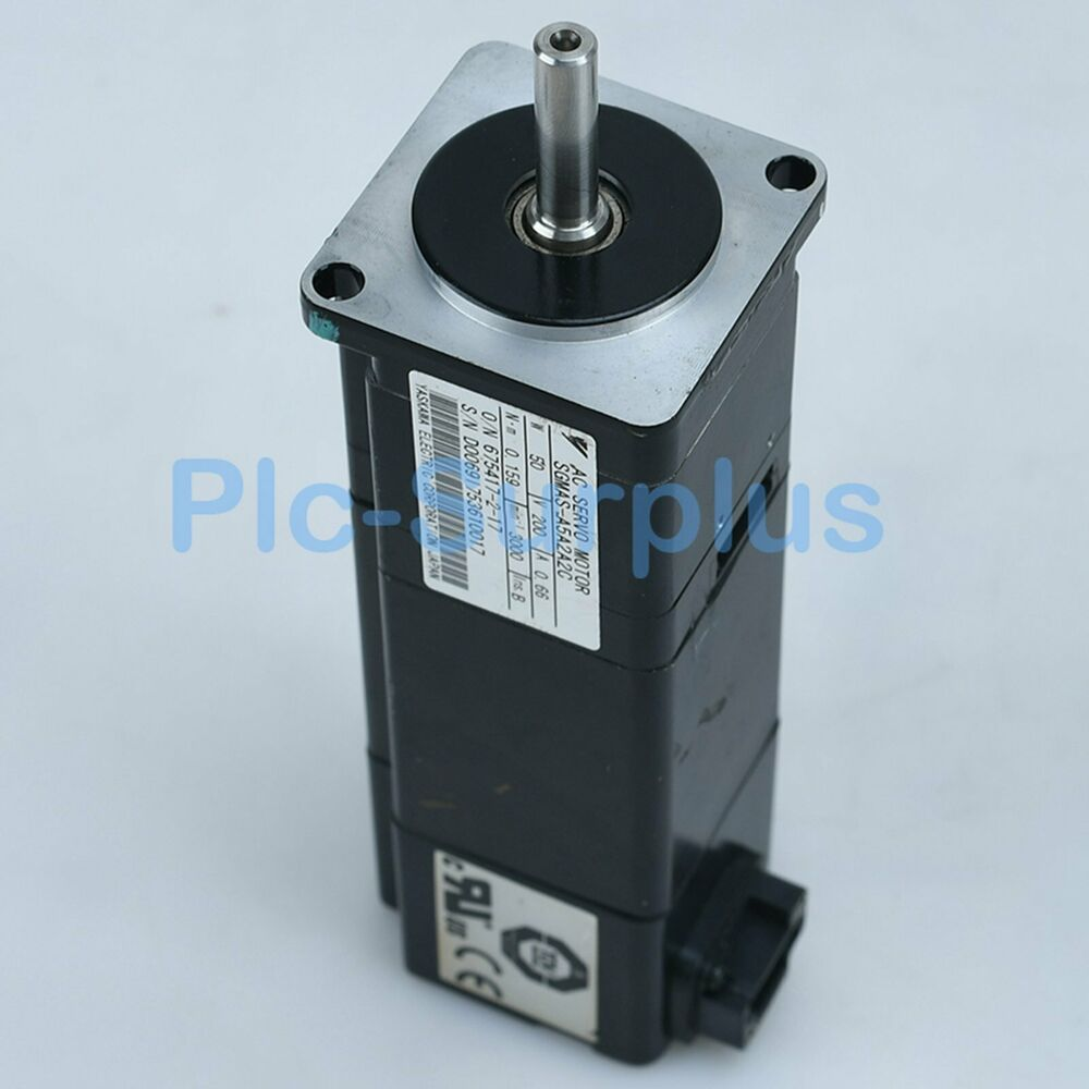 Yaskawa Used Servo Motors SGMAS-A5A2A2C SGMASA5A2A2C Tested fully 3