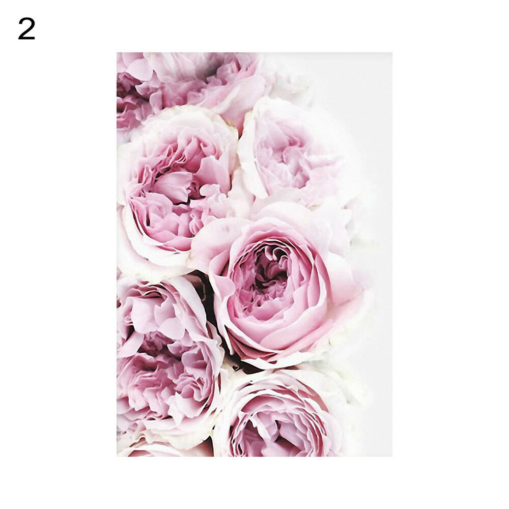 Unframed Modern Peony Art Canvas Painting Picture Print Home Wall Decor Opulent 8