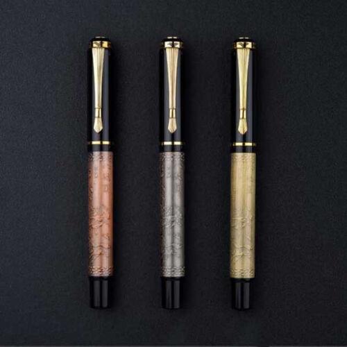 18 Colors JINHAO BAOER Metal Fountain Pen Fine F/0.5mm Nibs Writing Xmas Gifts